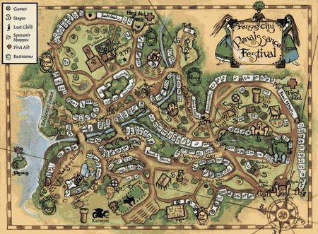 Rf map